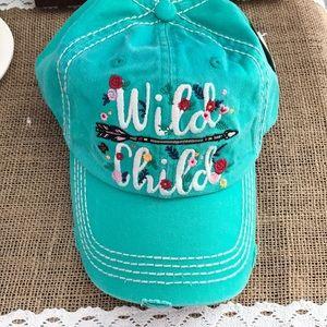 Wild child boho style cap